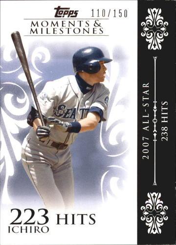 Photo of 2008 Topps Moments and Milestones #63-223 Ichiro Suzuki