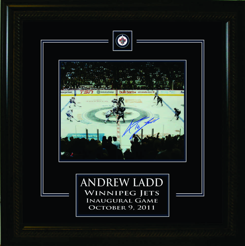 Andrew Ladd Signed 8