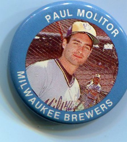 Photo of 1984 Fun Foods Pins #105 Paul Molitor