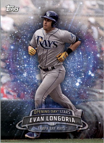 Photo of 2017 Topps Opening Day Opening Day Stars #ODS18 Evan Longoria