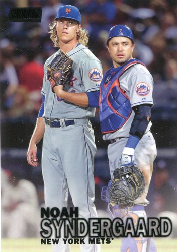 Photo of 2016 Stadium Club Black #216 Noah Syndergaard