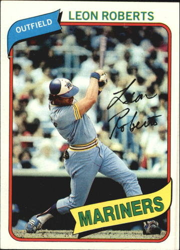 Photo of 1980 Topps #507 Leon Roberts