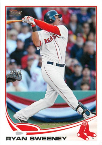 Photo of 2013 Topps #291 Ryan Sweeney