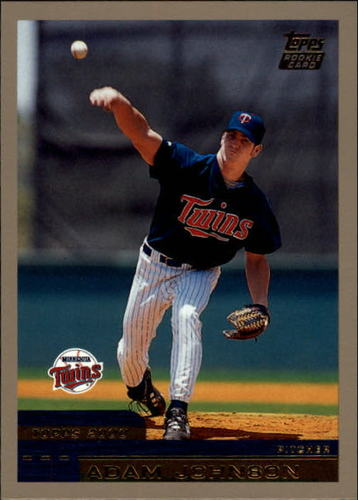 Photo of 2000 Topps Traded #T83 Adam Johnson RC