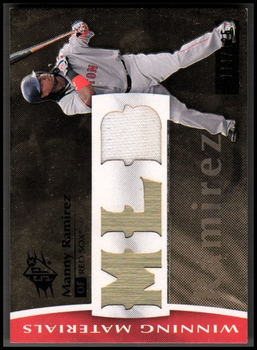 Photo of 2008 SPx Winning Materials MLB 125 #MR Manny Ramirez