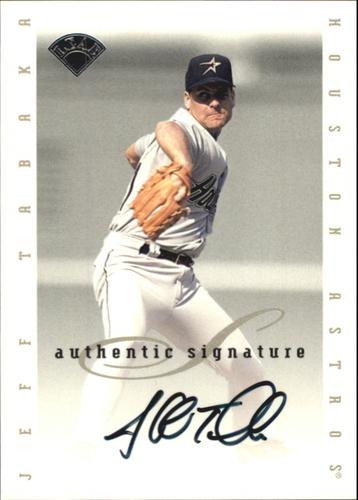 Photo of 1996 Leaf Signature Extended Autographs #197 Jeff Tabaka