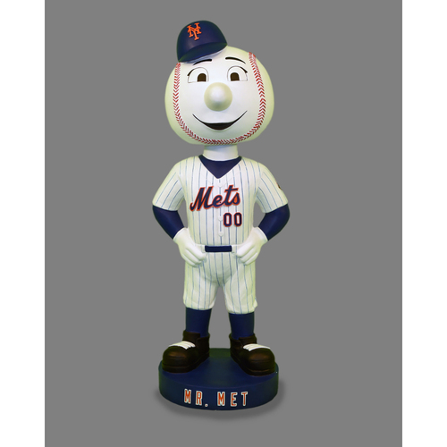 Amazin' Auction: Mr. Met 4 Foot-Tall Autographed Bobblehead   - Lot # 17