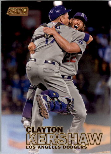 Photo of 2016 Stadium Club Gold #69 Clayton Kershaw