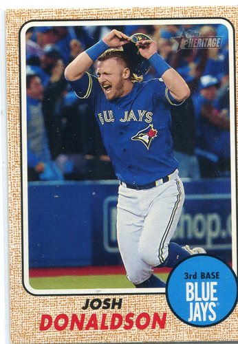 Photo of 2017 Topps Heritage #490B Josh Donaldson Action SP