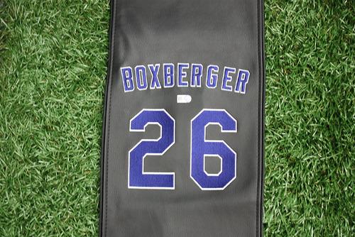 Photo of Brad Boxberger Chair Name Panel