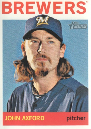 Photo of 2013 Topps Heritage #377 John Axford