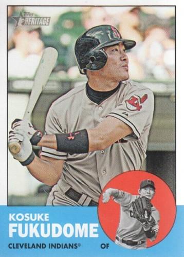 Photo of 2012 Topps Heritage #248 Kosuke Fukudome