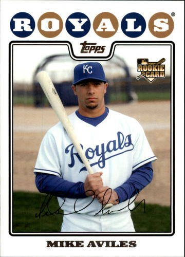 Photo of 2008 Topps Update #UH159 Mike Aviles RC