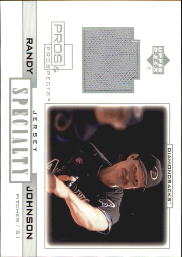 Photo of 2001 Upper Deck Pros and Prospects Specialty Game Jersey #SRJ Randy Johnson