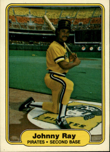 Photo of 1982 Fleer #492 Johnny Ray RC