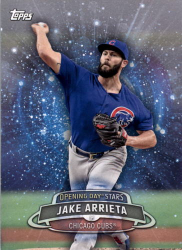 Photo of 2017 Topps Opening Day Opening Day Stars #ODS22 Jake Arrieta