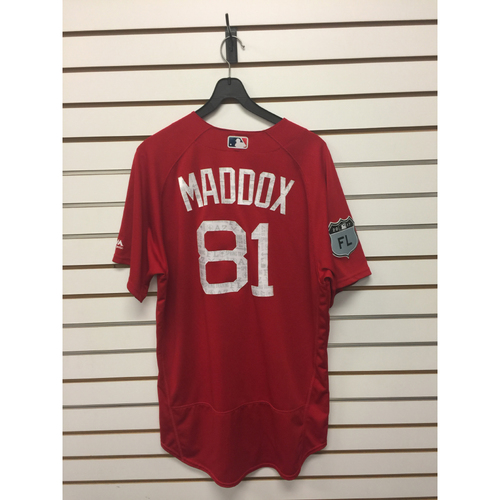 Photo of Austin Maddox Team-Issued 2017 Spring Training Jersey
