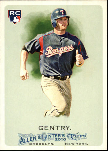 Photo of 2010 Topps Allen and Ginter #222 Craig Gentry RC