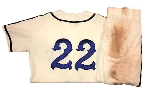 Photo of Andrew McCutchen Game-Used Homestead Greys Jersey and Pants