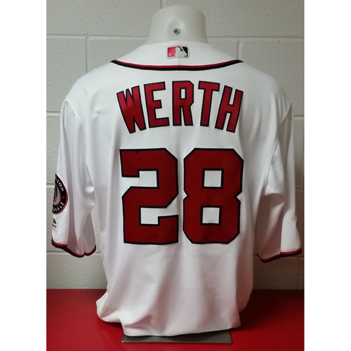 Photo of NLDS Game-Used Jersey: Jayson Werth