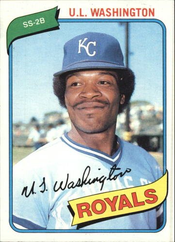 Photo of 1980 Topps #508 U.L. Washington