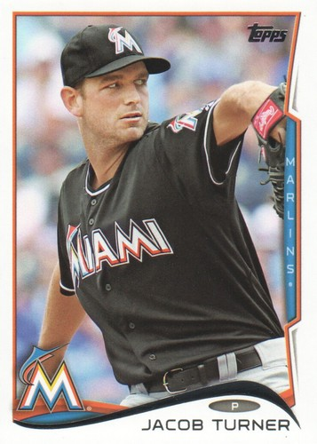 Photo of 2014 Topps #392 Jacob Turner