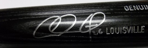 Photo of Chase Utley Autographed Louisville Slugger Bat
