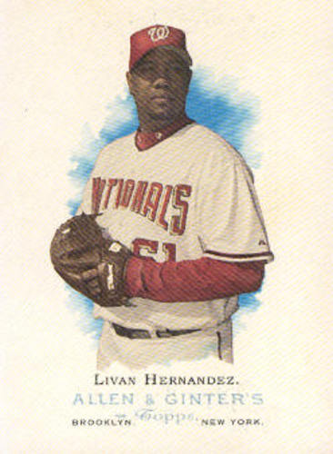 Photo of 2006 Topps Allen and Ginter #141 Livan Hernandez
