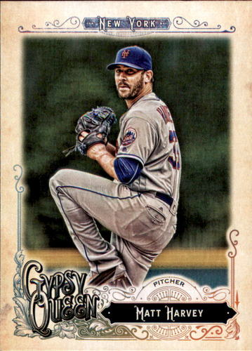 Photo of 2017 Topps Gypsy Queen #9 Matt Harvey