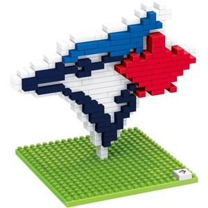 Toronto Blue Jays BRXLZ 3D Logo by Forever Collectibles