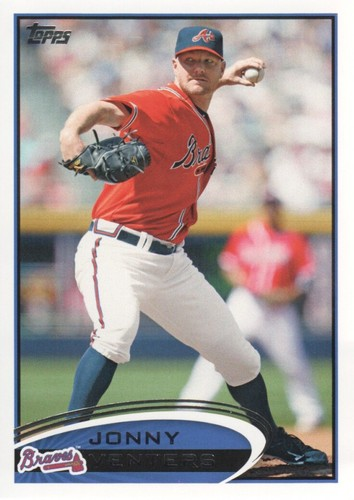 Photo of 2012 Topps #408 Jonny Venters