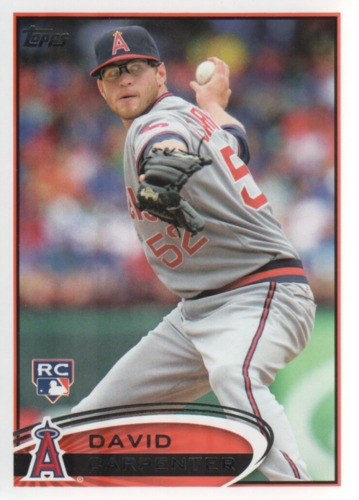 Photo of 2012 Topps Update #US321 David Carpenter RC
