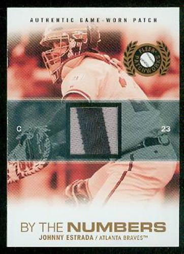 Photo of 2005 Fleer Patchworks By the Numbers Patch #JE Johnny Estrada