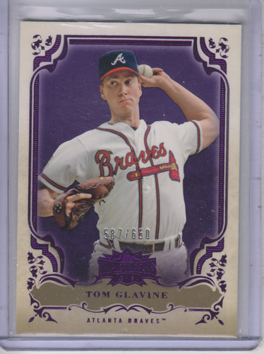 Photo of 2013 Topps Triple Threads Amethyst #40 Tom Glavine