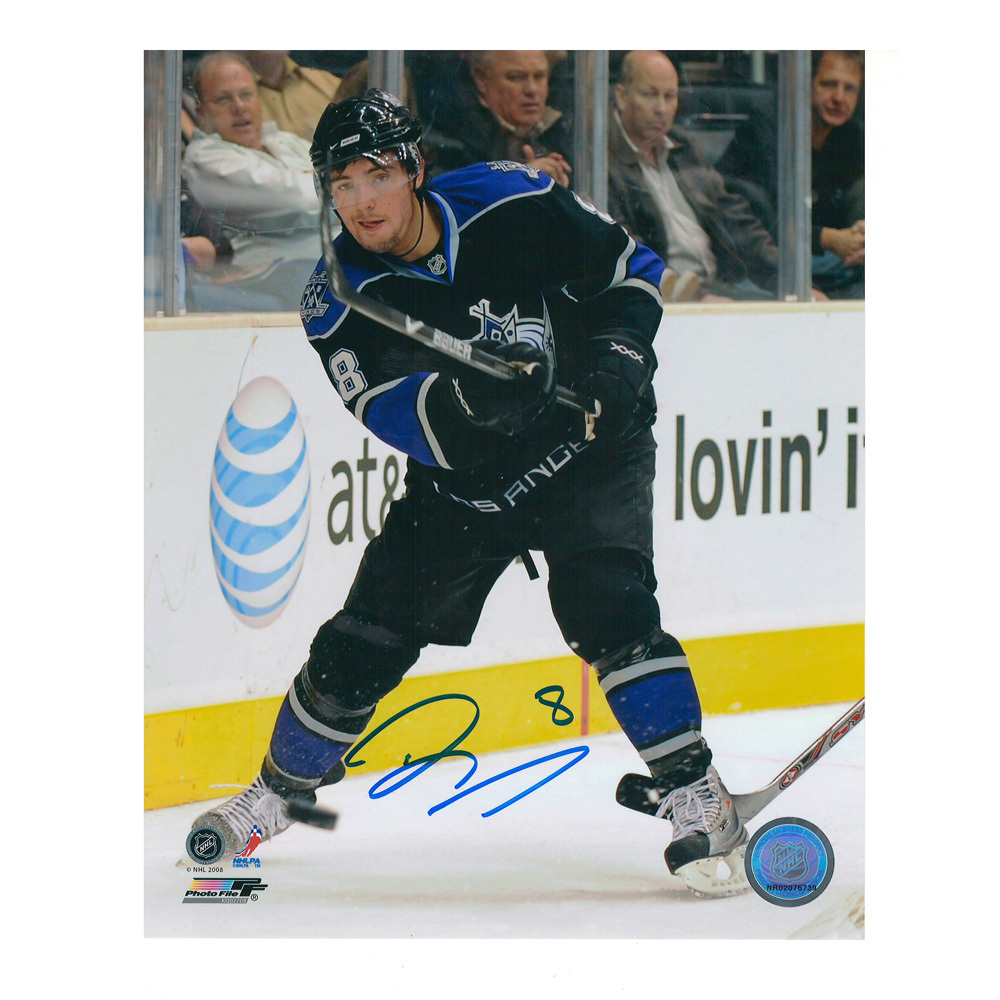 DREW DOUGHTY Signed Los Angeles Kings 8 x 10 Photo - 70023