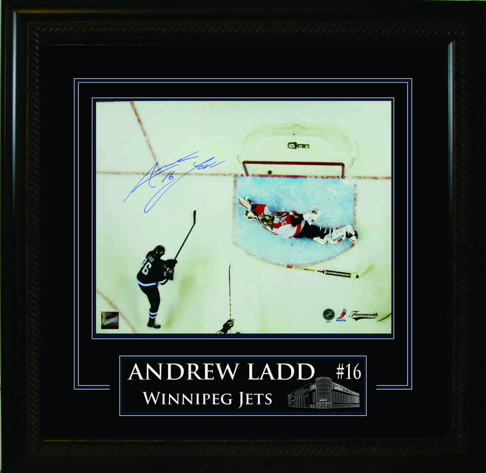 Andrew Ladd Signed 16