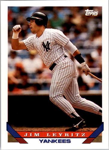 Photo of 1993 Topps #385 Jim Leyritz