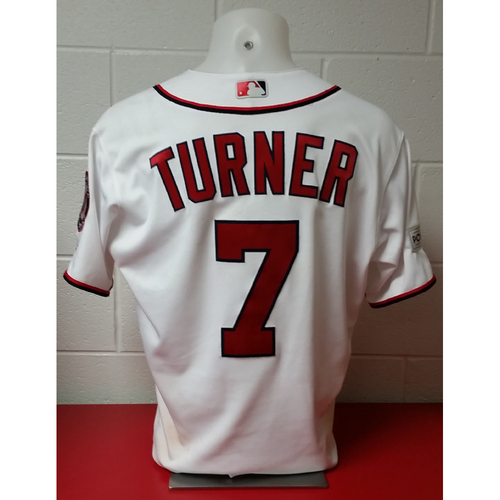 Photo of NLDS Game-Used Jersey: Trea Turner