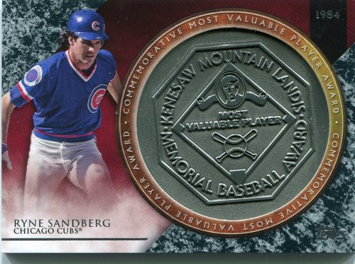 Photo of 2017 Topps Update MVP Award Relics #MVPRRS Ryne Sandberg
