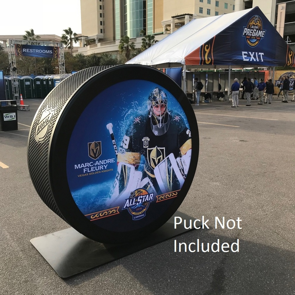 2018 NHL All-Star Game Banner Featuring Marc Andre Fleury (Vegas Golden Knights)