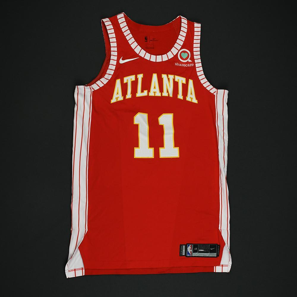 Josh Magette - Atlanta Hawks - Game-Issued Classic Edition 1970-72 Road Style Jersey - 2017-18 Season
