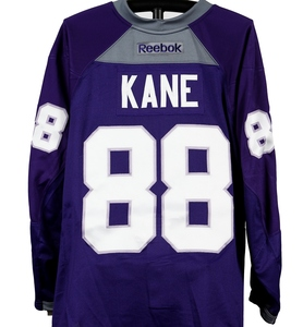 #88 - Patrick Kane Autographed Authentic Hockey Fights Cancer Jersey - Chicago Blackhawks