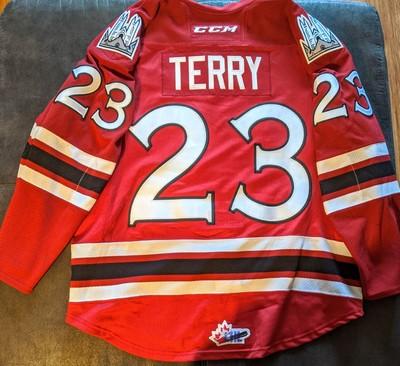Zack Terry #23 Memorial Cup Jersey