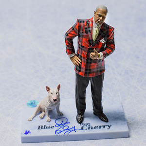 Don Cherry Autographed Plaid Suit McFarlane Figurine