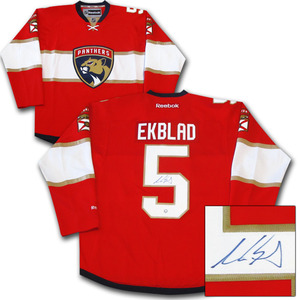 Aaron Ekblad Autographed Florida Panthers Jersey