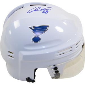 Alex Pietrangelo Signed St. Louis Blues White Replica Mini Helmet + FREE GIFT!