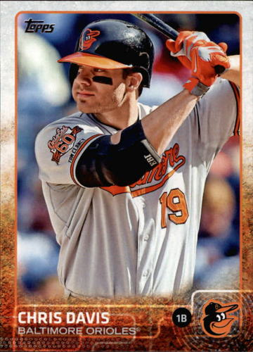 Photo of 2015 Topps #566 Chris Davis