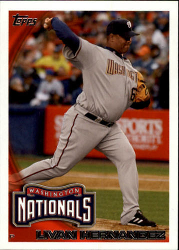 Photo of 2010 Topps Update #US29 Livan Hernandez