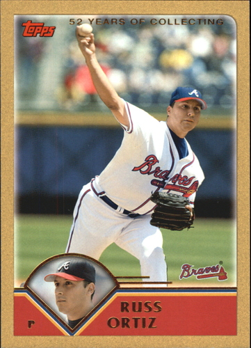 Photo of 2003 Topps Traded Gold #T60 Russ Ortiz