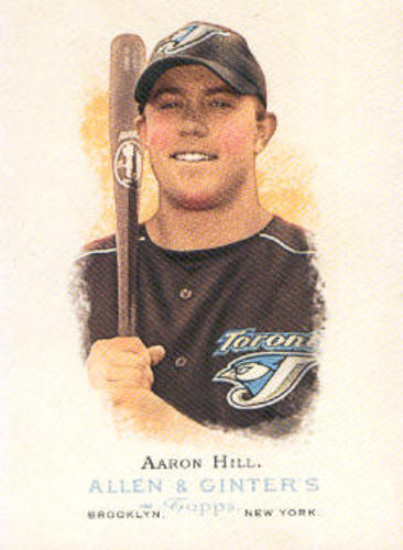 Photo of 2006 Topps Allen and Ginter #320 Aaron Hill
